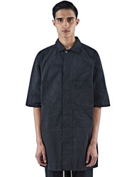 Rick Owens Short Sleeved Worker Jacket Black