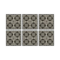 Images D'orient Set Of 6 Coasters Sejjadeh Rosace