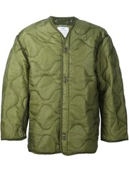 Oamc Peacemaker Quilted Jacket Green