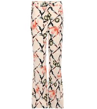 Dorothee Schumacher Perfect Paradise Printed Silk Trousers Multicoloured