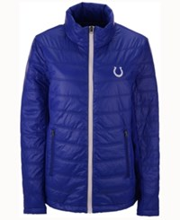 G3 Sports Men's Indianapolis Colts Skybox Packable Quilted Jacket Blue