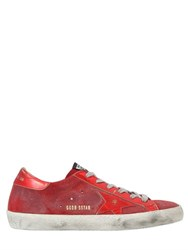 Golden Goose 20Mm Superstar Suede And Leather Sneakers