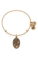 Women's Alex And Ani 'I Love You Mom' Expandable Wire Bangle