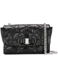 Salvatore Ferragamo 'Vara' Crossbody Bag Black