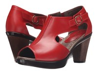 Sanita Begonia Red Women's Shoes