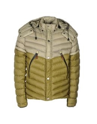 Diadora Heritage Down Jackets Military Green