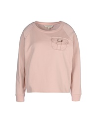People Tree Sweatshirts Light Pink