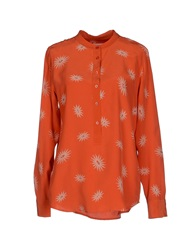Blouses Orange