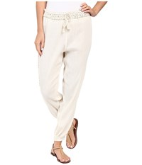 Volcom Moonfire Pants Vintage White Women's Casual Pants Beige