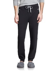 Hugo Boss Boss Cotton Blend Sweatpants Black