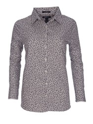 Lands' End Patterned Supima Non Iron Shirt Graphic Floral Print