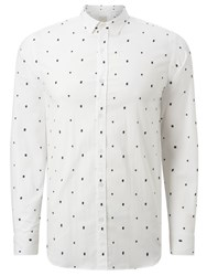 Selected Homme One Tree Long Sleeve Shirt White