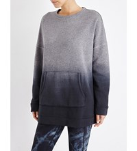 Sweaty Betty Parkour Studio Jersey Sweatshirt Charcoal