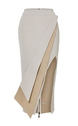 Maticevski Elite Pencil Skirt Khaki