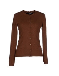Malo Cardigans Brown