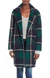 Women's J.O.A. Plaid Boxy Jacket