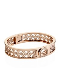 Michael Kors Fulton Monogram Hinge Bangle Female