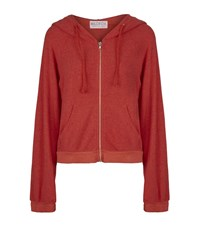 Wildfox Couture Wildfox Today Has Been Cancelled Hideout Hoodie Female Red
