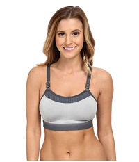 Champion The Show Off Oxford Heather Women's Bra Silver