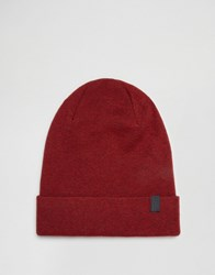 Selected Homme Beanie Leth Red