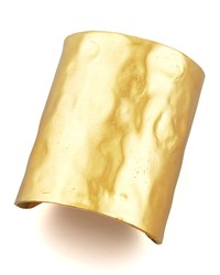 Hammered Gold Cuff Devon Leigh