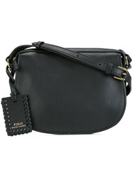 Polo Ralph Lauren Hobo Crossbody Bag Black