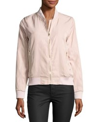 On The Road Lia Bomber Jacket Light Pink
