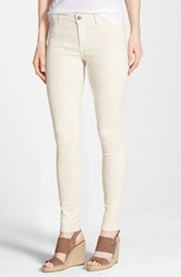 Women's Cj By Cookie Johnson 'Joy' Python Print Skinny Pants Natural