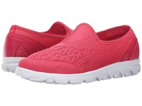 Propet Travelactiv Slip On Watermelon Red Women's Slip On Shoes