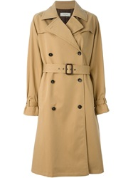 Paul By Paul Smith Belted Trench Coat Nude And Neutrals