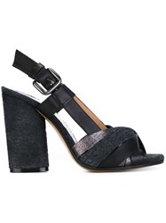 Maison Martin Margiela Multi Strap Sandals Black