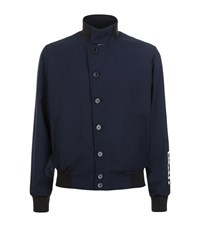 Mcq By Alexander Mcqueen Asymmetric Button Up Jacket Male Navy