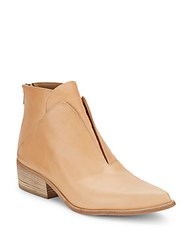 Ld Tuttle Layered Leather Booties Dune