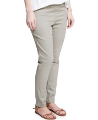 Violeta By Mango Plus Size Jeggings Colored Wash Forest Green