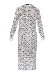 Mother Of Pearl Lawrence Floral Print Silk Dress