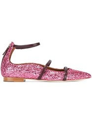 Malone Souliers 'Robyn' Ballerinas Pink And Purple