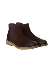 White Stuff Henry Suede Chelsea Boot Natural