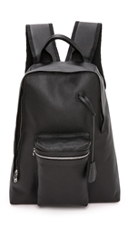 Golden Goose Arch Backpack Black Basket Leather