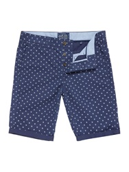 Criminal Geo Print Chino Short Navy