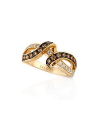 Le Vian Diamond Swirl Chocolatier Ring 0.30Tcw Gold