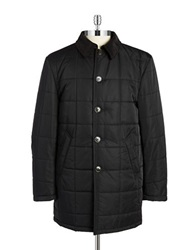 Lauren Ralph Lauren Laher Quilted Raincoat Black