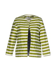 Barneys New York Suits And Jackets Blazers Women Acid Green