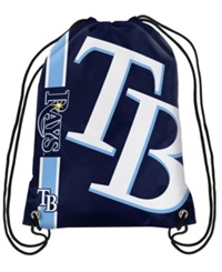 Forever Collectibles Tampa Bay Rays Big Logo Drawstring Bag Navy