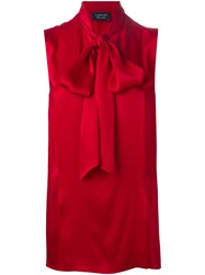 Lanvin Sleeveless Shirt Red