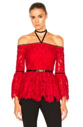 Alexis Grace Top In Red