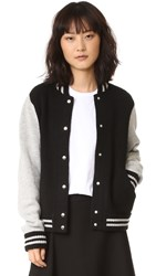 Marc Jacobs Varsity Jacket Black Multi