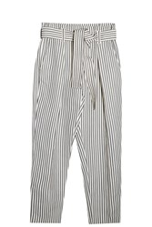 3.1 Phillip Lim Linen Paperbag Trousers