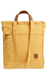 Fjall Raven Fjallraven 'Totepack No.1' Water Resistant Tote Yellow Ochre