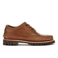 Yuketen Men's Maine Guide Ox Db With Cortina Sole Shoes Tan