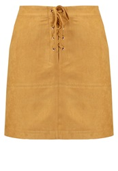 New Look Mini Skirt Tan